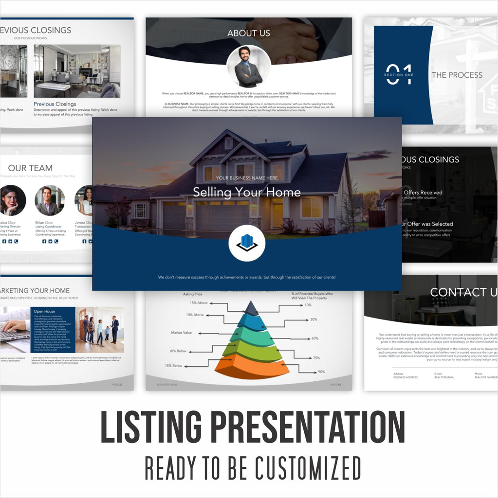Listing Presentation - Ready For You to Customize