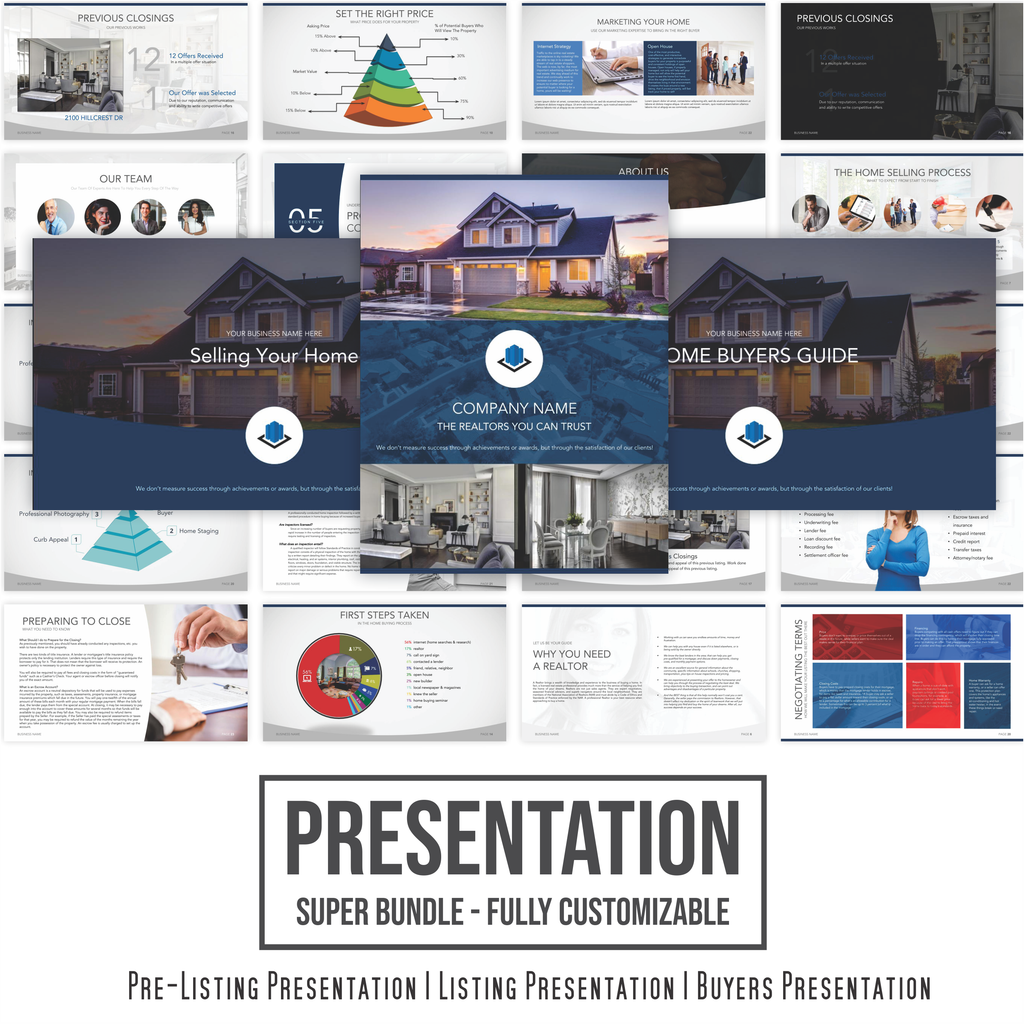 Presentation Bundle - Ready For You to Customize