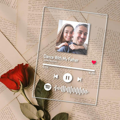 Father's Day Gifts - Custom Spotify Code Music Plaque(4.7IN X 6.3IN)