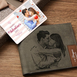 Custom Photo Wallet Insert Card  - Valentine's Day