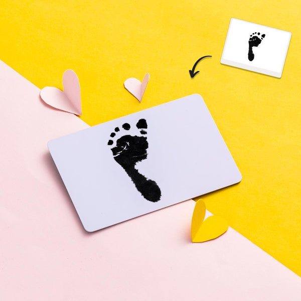 Baby Footprints Photo Calendar Wallet Card – Gift For Her