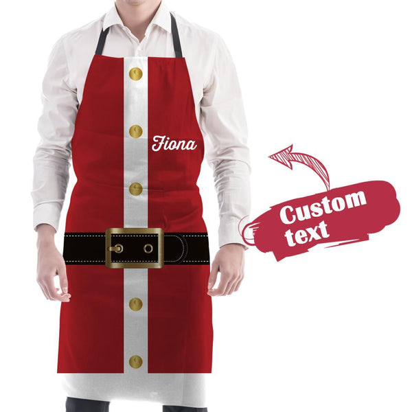 Personalized Sexy Apron Custom Text Apron for Family Christmas Gifts for Her