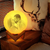 UK Fast Delivery - Moon Lamp 3D Printing Photo And Engraved Words-Touch Two Colors(10-20cm)