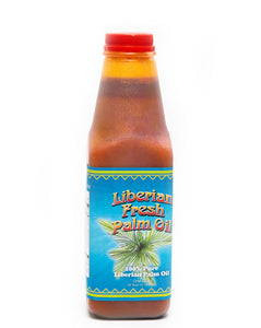 100% Liberian Palm Oil (1 quart)