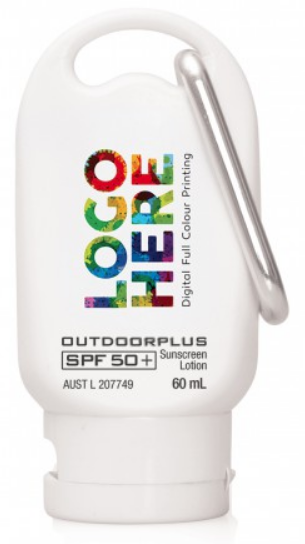 Cambridge 60ml 50+ Sunscreen with Carabineer.