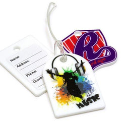 Custom Shape Acylic Luggage Tag