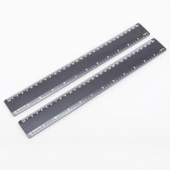 Fixed 30cm Plastic Ruler