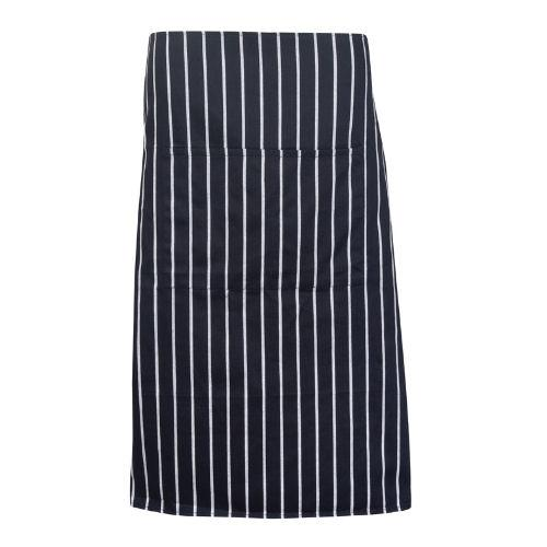 Retro Stripe Long Apron