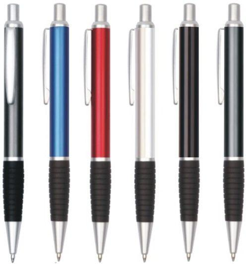 Arc Satin Trim Metal Pen