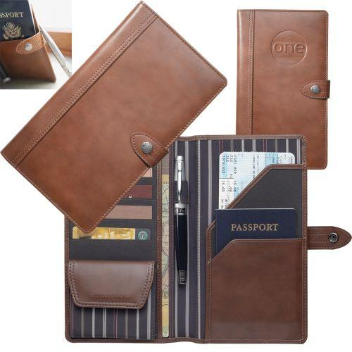 Avalon Genuine Leather Travel Wallet