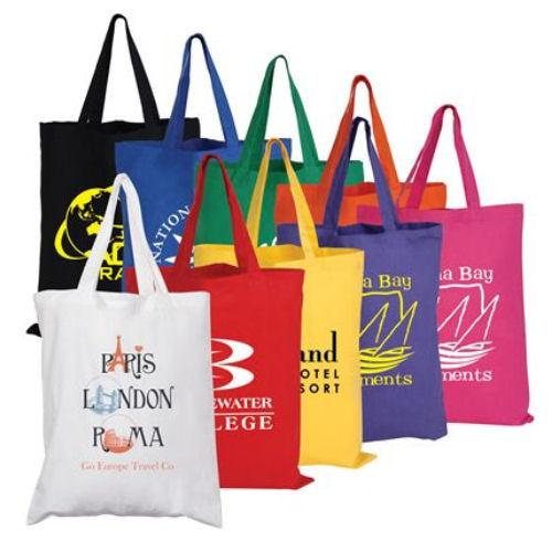 Bleep Coloured Cotton Tote