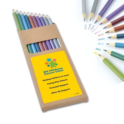 Bleep Metallic Colouring Pencils