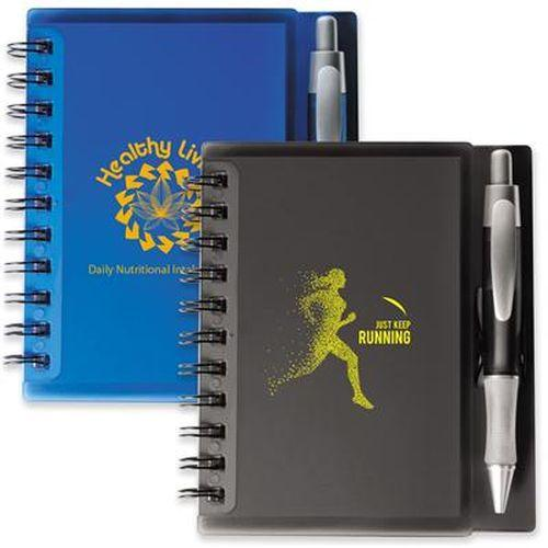 Bleep Spiral Notebook with Pen