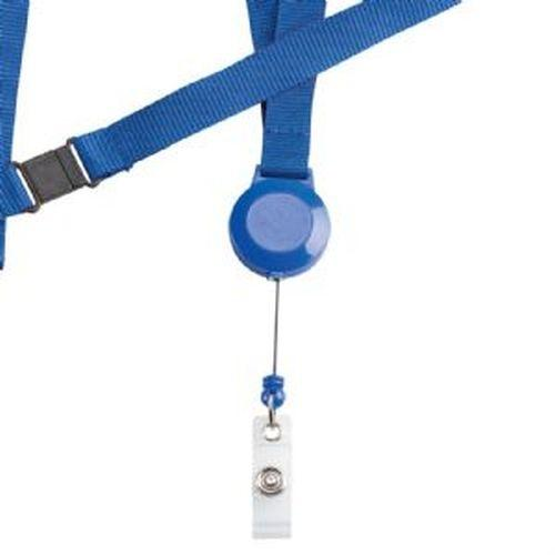 Oxford Retractable Badge Holder with Neck Cord