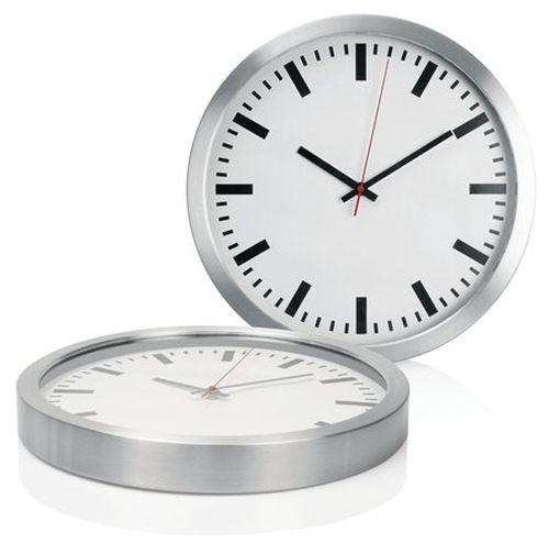 Yale Metal Wall Clock