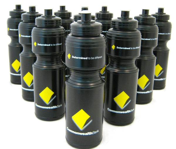 CBA Black Drink Bottle 800ml