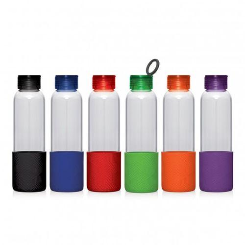 Cambridge Glass Drink Bottle with Carry Loop Lid