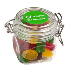 Yum Acrylic Clip Lock Container with Lollies
