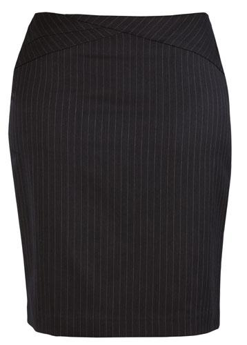 Ladies Chevron Band Skirt