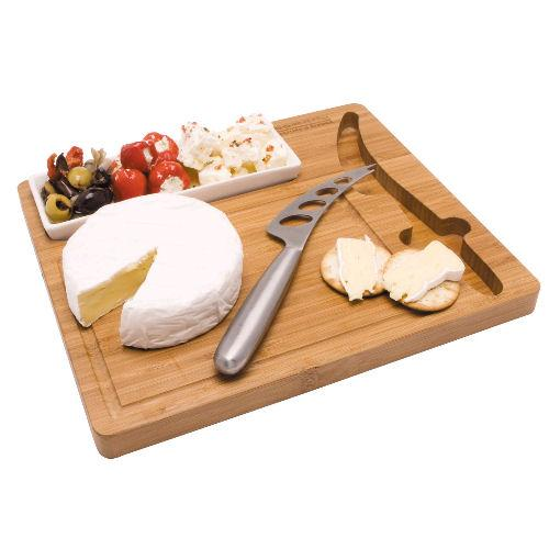 Classic Bamboo Cheese Board