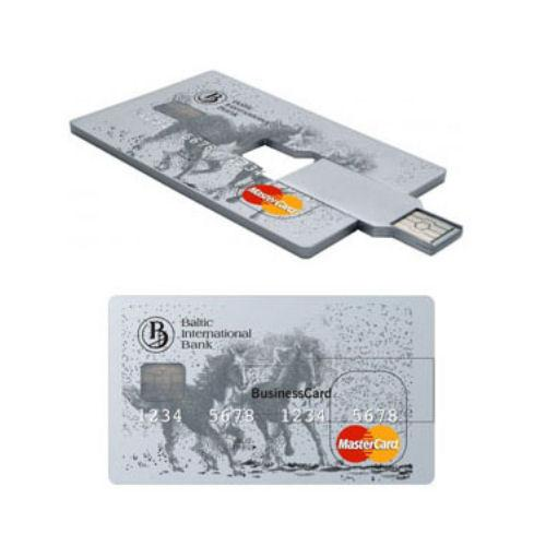 Credit Card Style Rectangle USB Flash Drive