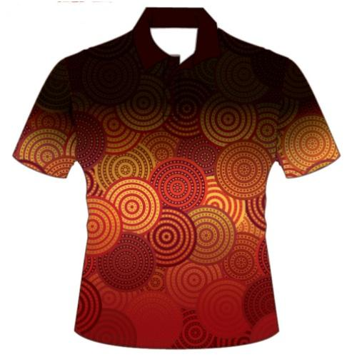 Custom Full Colour Sublimated Polo Shirt