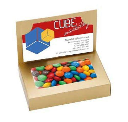 Devine Business Card Box with Lollies