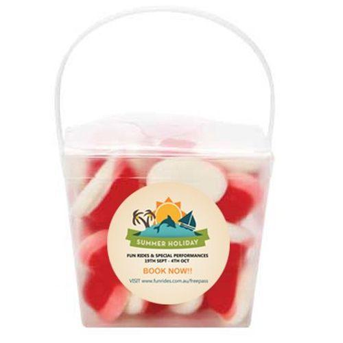 Devine Transparent Noodle Box filled with Lollies