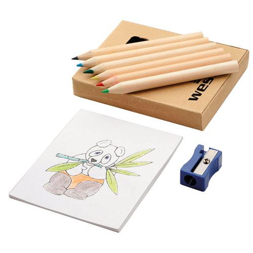 Dezine Colouring Set
