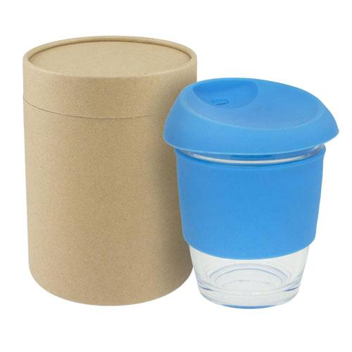 Dezine Glass Takeaway Coffee Cup
