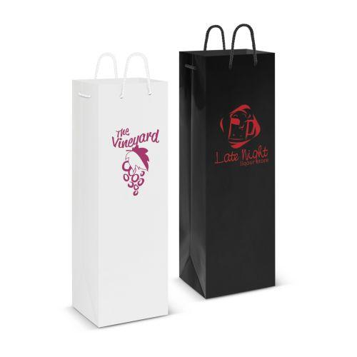 Eden Gloss Paper Wine Bag