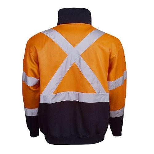 Hi Vis Winter Fleece Jumper - Day/Night Use