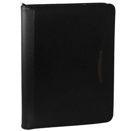 Avalon A4 Leather Compendium with Calculator
