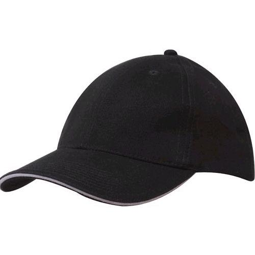 Generate Brushed Heavy Cotton Cap with Sandwich Trim