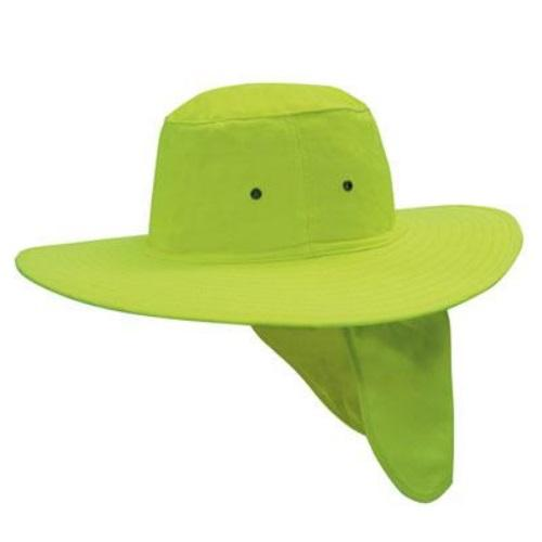 Generate Wide Brim Sun Hat with Flap