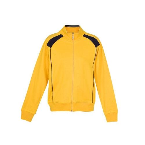 Retro Unbrushed Contrast Fleece Jacket