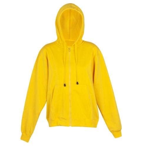 Aston Poly Cotton Zip Hoodie