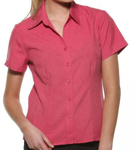 Health Care Ladies Short Sleeve Shirt