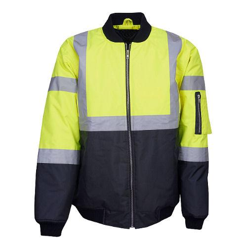 Hi Vis Industrial Jacket - Day/Night Use