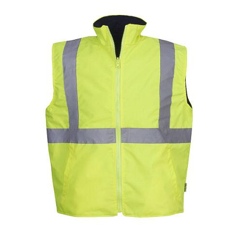 Hi Vis Reversible Vest - Day/Night Use