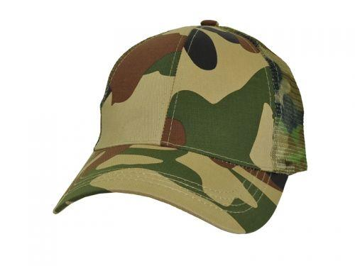 Icon Premium Camouflage Cotton Trucker Cap