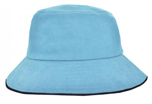 Icon Sandwich Trim Bucket Hat