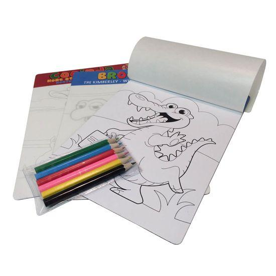 Kids Colour-In Magnet