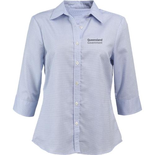 Ladies 3/4 Sleeve Corporate Shirt