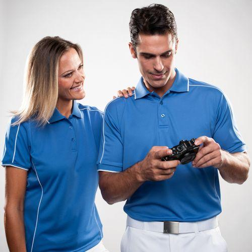 Leisure Sports Mesh Polo Shirt