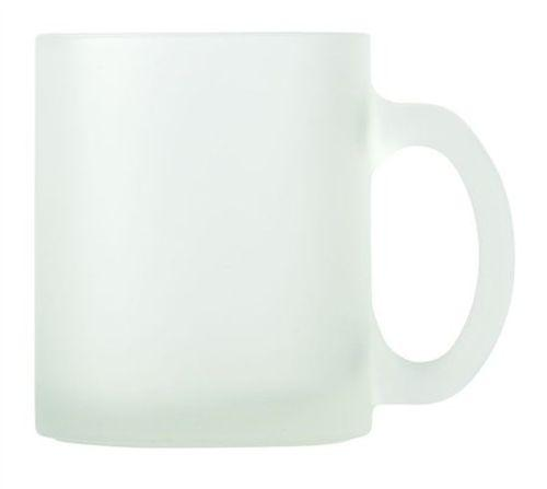 Yale Frosted Glass Mug