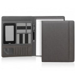 Yale Modern A4 Un-Zippered Compendium - Charocal