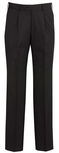 Mens Single Front Pleat Pant