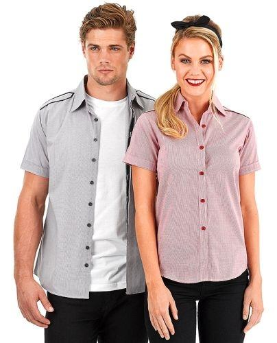 Reflections Epaulette Short Sleeve Shirt