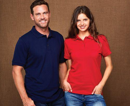 Outline 100% Combed Cotton Polo Shirt